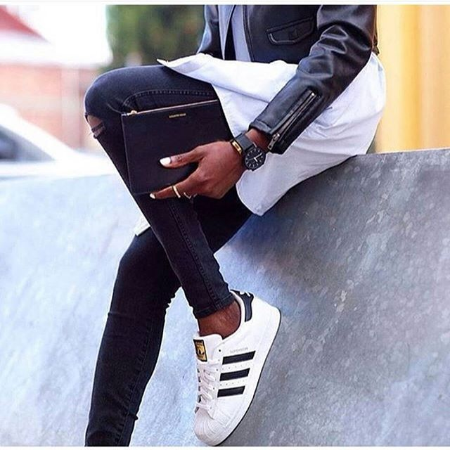 beautiful, black, black and white, cool, denim, denims, fashion, girl, jeans, style, white, sport style
