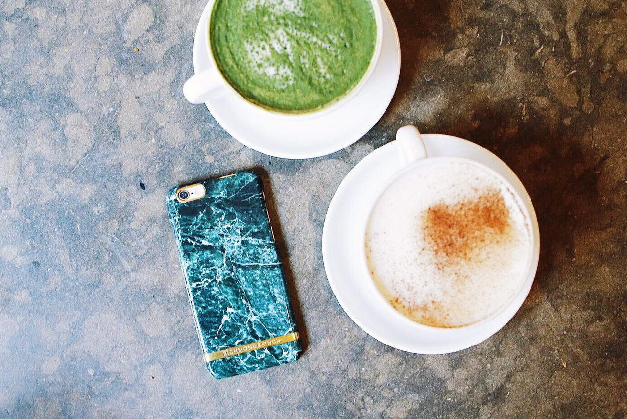 case, coffee, iphone and green coffee