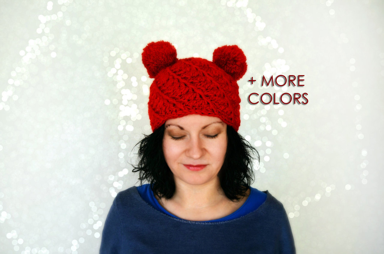 red, winter, winter fashion and winter hats