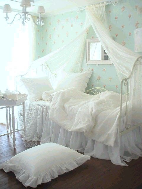 lovely, home, bedroom and shabby chic