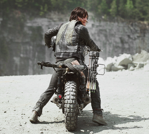 daryl dixon, norman reedus, the walking dead and twd