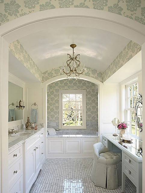 bathroom, decorating, pastel and white