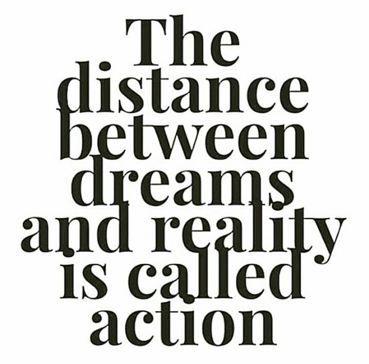 action, dreams, dreams come true, live, quotes, success, work