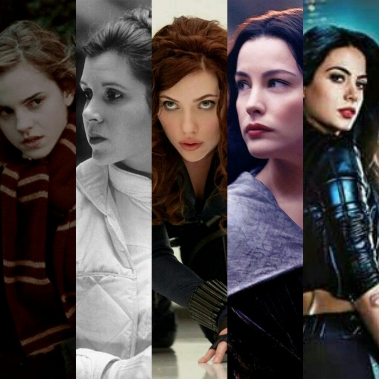 arwen, avengers, black, fandoms, girls, granger, harry potter, hermione, instruments, isabelle, leia, marvel, natasha, skywalker, star wars, the, the lord of the rings, tolkien, widow, shadowhunter, lightwood, mortal, romanoff