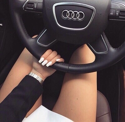 audi, car, cars, friends, luxury, money, nail, nails, rich