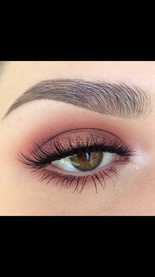 beauty, black, blush and brow