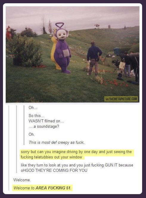 dead, funny, lol and teletubbies