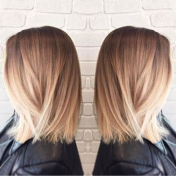 Ombre Straight Hair Short Up To 60 Off Free Shipping