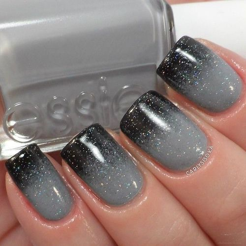 Blue Grey Nail Polish Essie: Essie, Nail Polish, Nails, Essie Nail Polish, Grey Nails