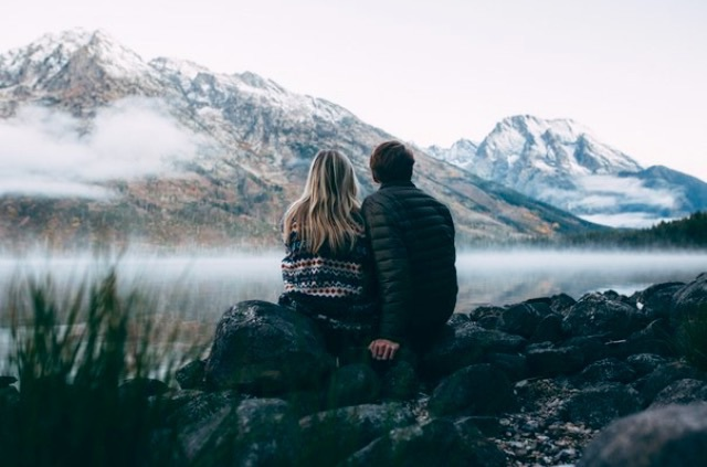 adventure, blonde, boyfriend, cold, couples, escape, friends, girlfriend, goals, hand, hill, jacket, landscape, love, moutains, nature, people, places, rock, sky, sweater, tree, tumblr, water, winter, world