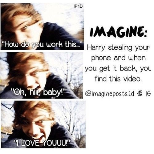The gallery for --> One Direction Imagines Harry