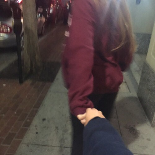 boy and girl, couple, girl, goals, holding hands - image ...