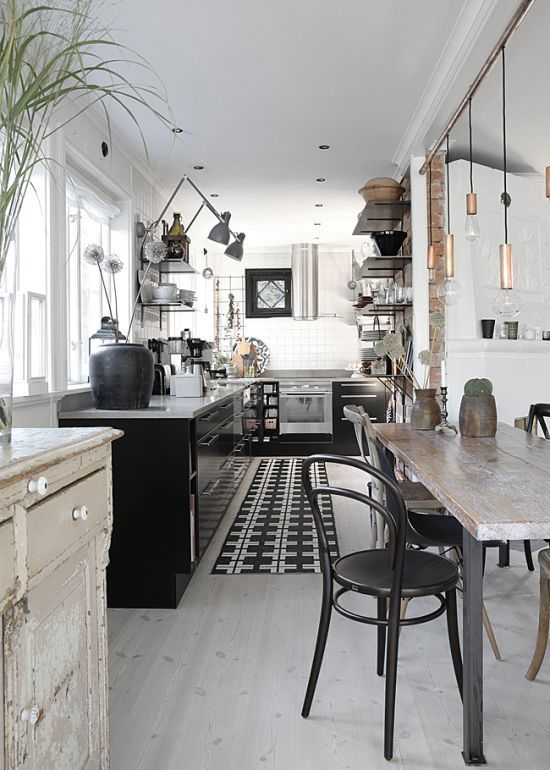 Le Sojorner Awesome Industrial And Rustic Mix Image