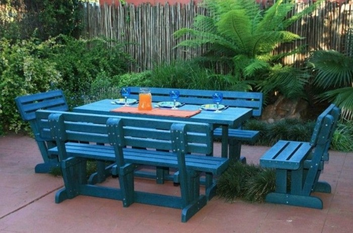 Recycled Plastic Outdoor Furniture Recycled Things Image 3917808 On Favim Com