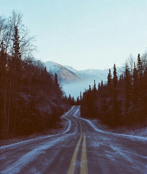 adventure, amazing, beautiful, freedom, highway, indie, life, love, magic, mist, mountains, nature, peace, photography, quotes, road, road trip, sky, winter, mountainside