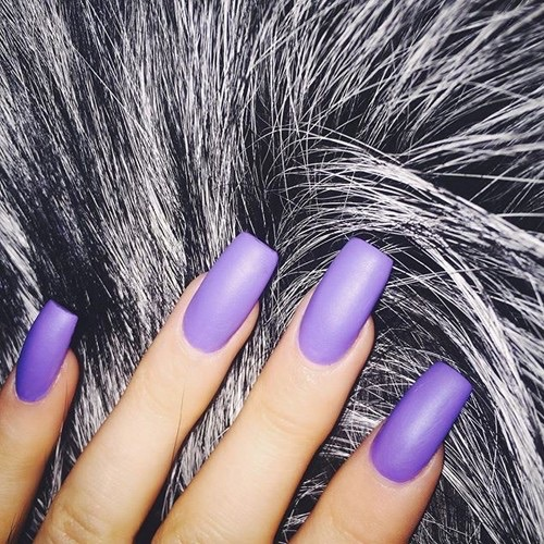 Black Inspo Kylie Jenner Nails Purple Image 3920890 By
