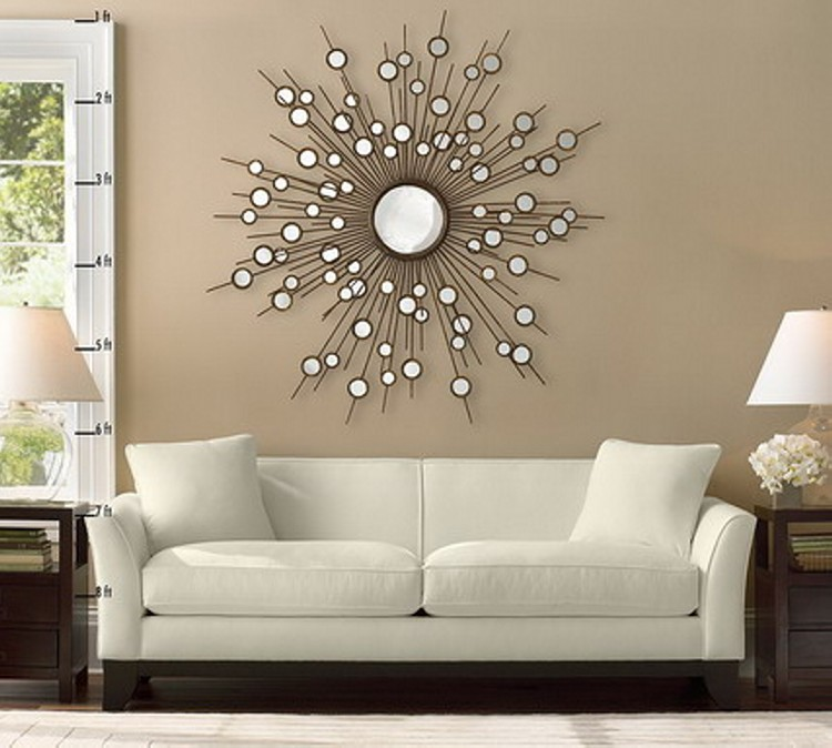 Living Room Wall Decor Ideas - Recycled Things - image ...