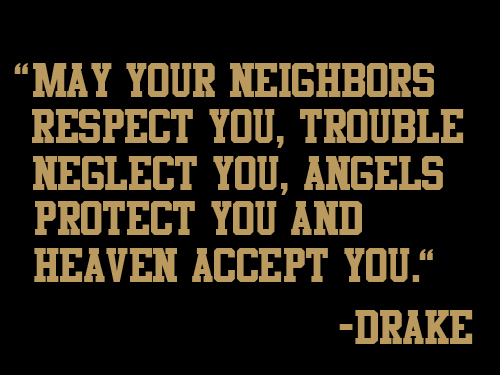 Drake Quote Text: Accept, Angels, Beautiful, Drake, Heaven