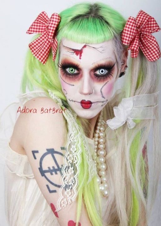 adora batbrat, alternative, costume, doll, goth