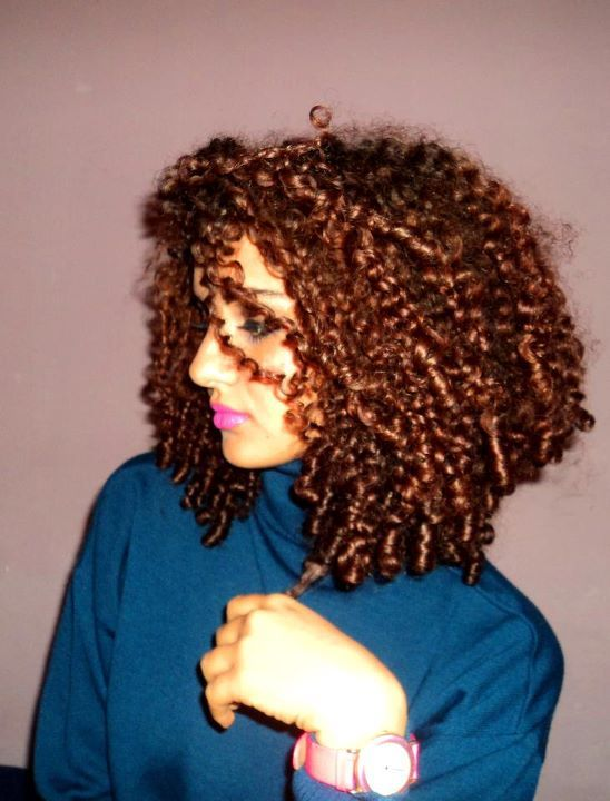 afro hair, beautiful, beauty, blue, brunnette