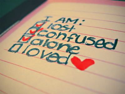 alone, confused, girl, heart, lost