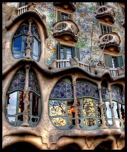 amazing, architecture, arquitectura, art, arte, awsome, barcelona, building, cool, espana, europa, europe, foto, gaudi, glass, house, lucy, nice, ornaments, photo, photography, separate with coma, spain, ventanas, windows