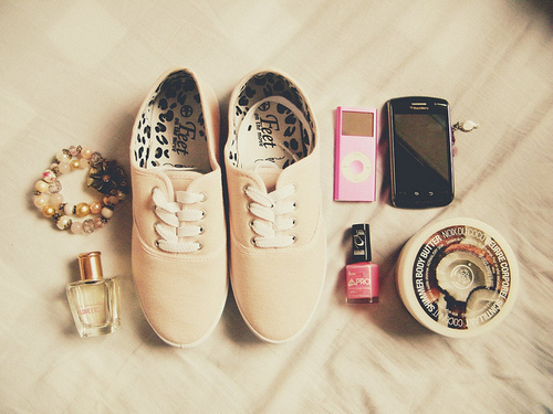 art, beautiful, cute, lomo, nail, pastel, perfume, pink, shoes, stuff, vintage