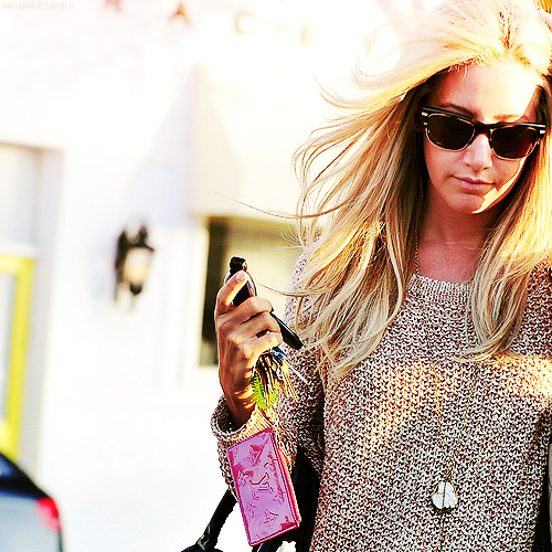ashley tisdale, blonde, colorful, fashion, glasses, hair, pink, pretty, woman