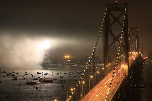 awesome, beautiful, boats, bridge, bright