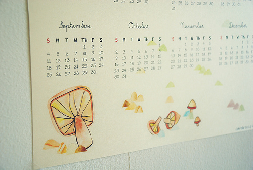 awesome, beautiful, calendar, cute, date, japan, mushroom, pastel, stuff, text, vintage