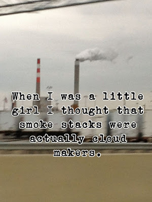 aww, cloud, cloud factories, cloud makers, clouds, cute, little girl, post secret, postsecret, secret, smoke, young