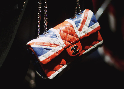 bag, chanel, fashion, union jack