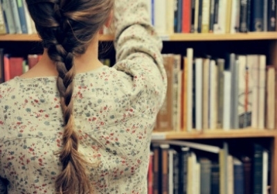 beautiful, blond, blonde, book, cute