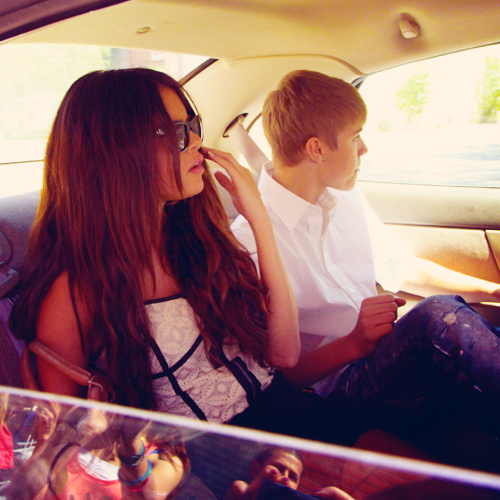 beautiful, candids, couple, jelena, justin bieber