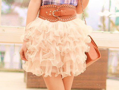 belt, cute, fashion, girl, skirt, stylish