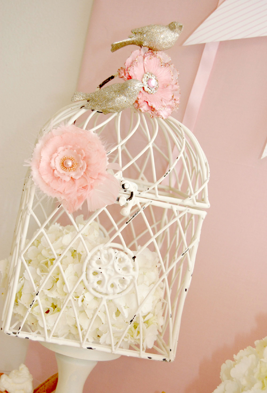 bird, bird cage, decoration, design, elegant, flowers, ornament, pink