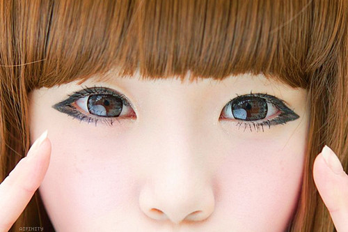 circle lens, eyes, kawaii, ulazzang