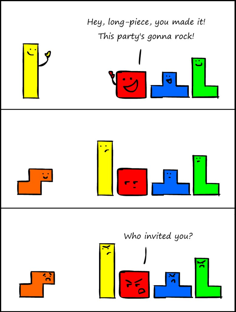 comic, cute, funny, lol, tetris
