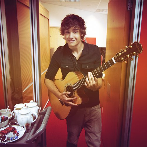 cute, guitar, handsome, liam payne, one direction
