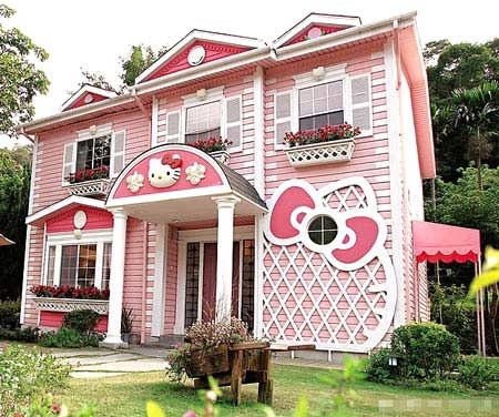 cute, hello kitty, home sweet home, photography, pink