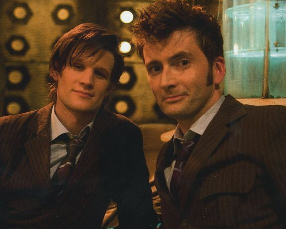 david tennant, doctor who, eleventh doctor, matt smith, tenth doctor