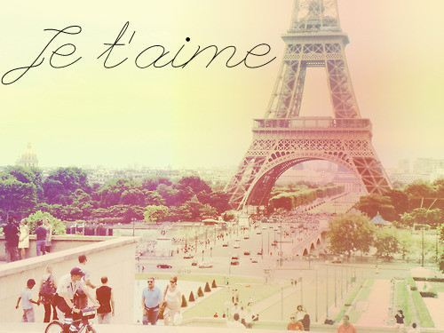 eiffel tower, france, french, i love you, paris - image ...
