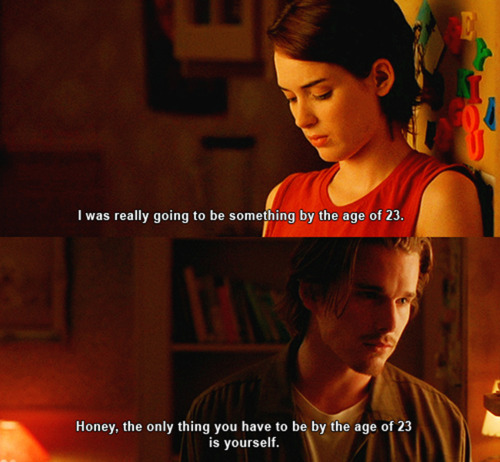 ethan hawke, quote, reality bites, winona ryder