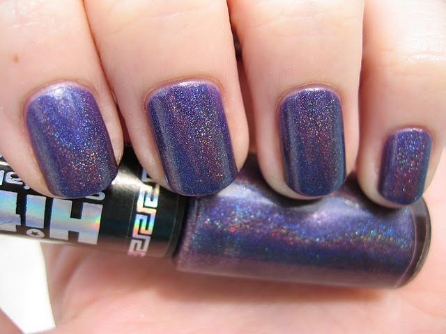 glitter, nails, purple