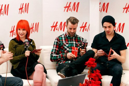 hayley williams, jeremy davis, paramisery, paramore, taylor york