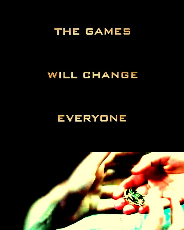 motto, poster, quote, the hunger games, trailer - inspiring picture on ...