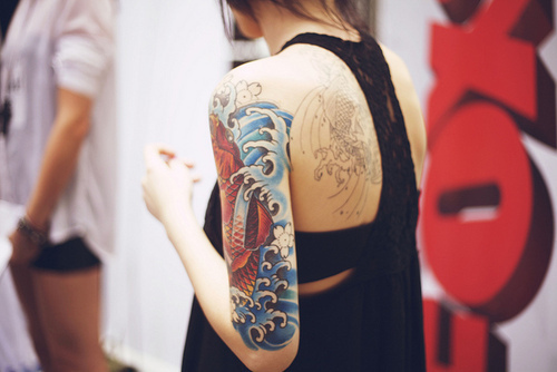 alternative, alternative girl, beautiful, beauty, girl, hipster, inkd, inked, pretty, tatoo, tattoo, tatuagem