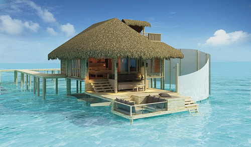 Amazing blue clouds cute dream image 245564 on for Amazing dream houses