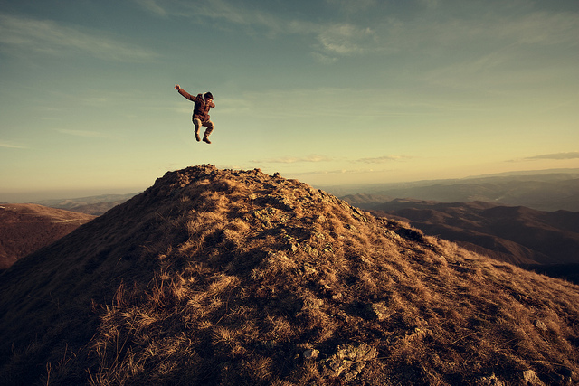 amazing, boy, freedom, jump, mountains
