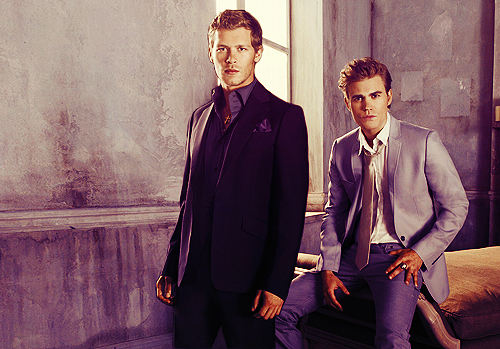 amazing, joseph morgan, klaus, klefan, man, paul wesley, pretty, stefan salvatore, the vampire diaries, tvd, vampire, vampire diaries